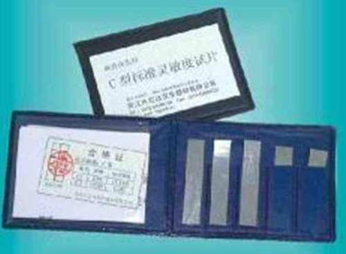 C型磁粉标准试片