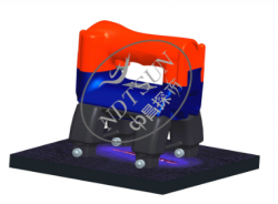 ZCM-XYDX1702-UV恒磁小一体磁轨探伤仪